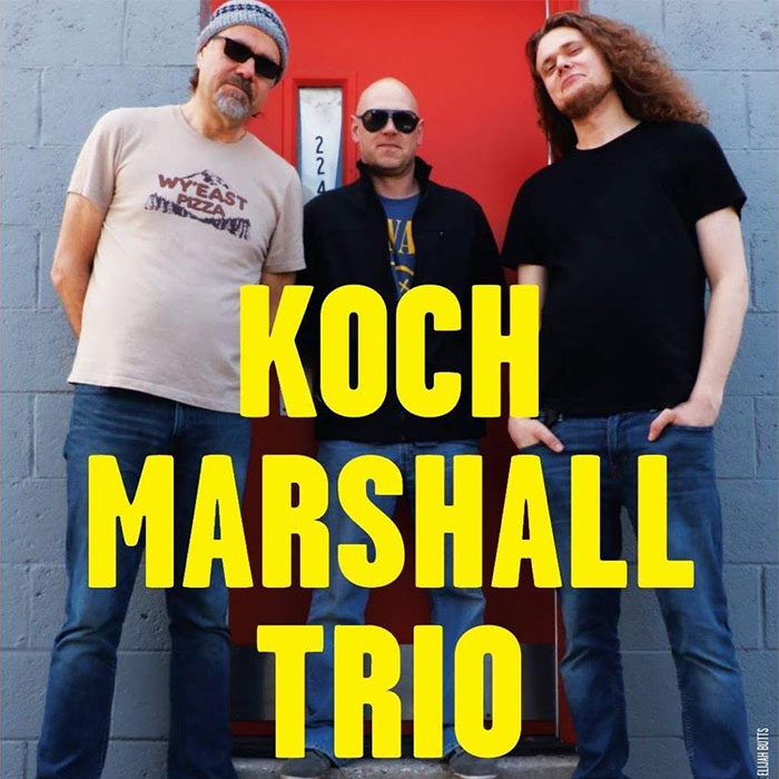 The Koch Marshall Trio with featured special guest David Grissom
