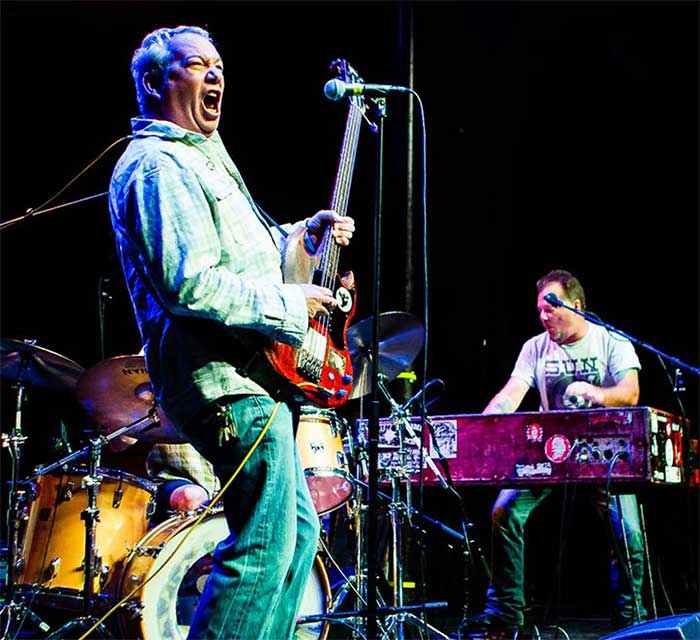 Mike Watt + the jom and terry show