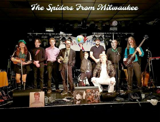 Spiders From Milwaukee (Bowie tribute)
