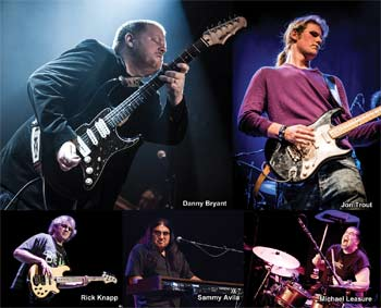 A Tribute to Walter featuring the Walter Trout Band, Danny Bryant & Special Guest Jon Trout